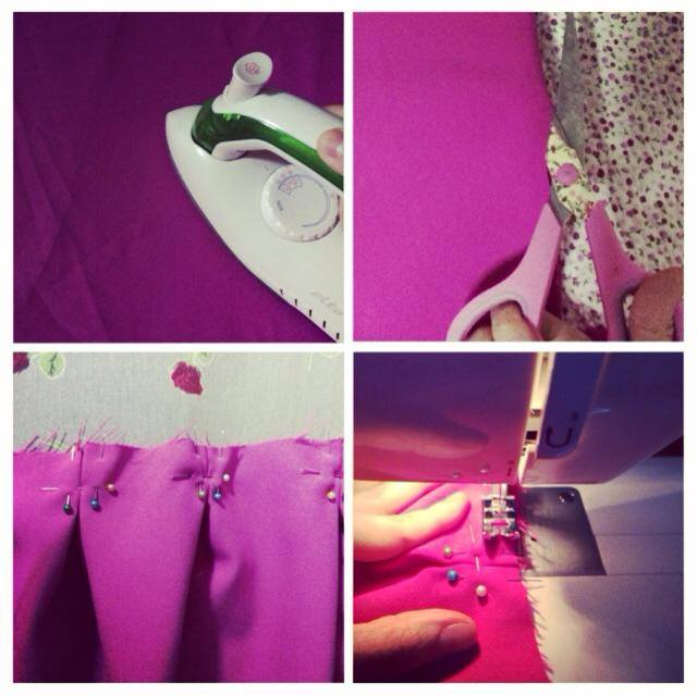 fashion designer, sew machine, andreea design, my passion, pink skirt