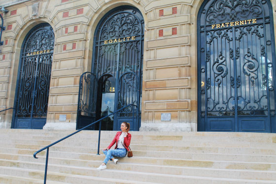 andreea design, follow me to paris, versailles, blogger