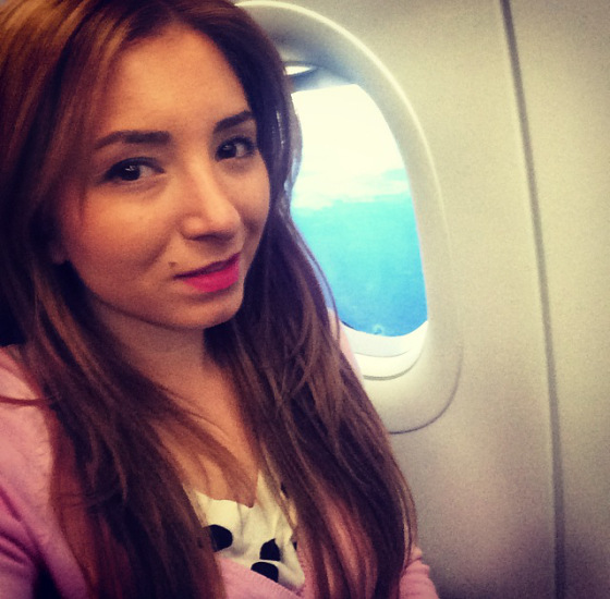 in the air, up, airplane. girl, picture
