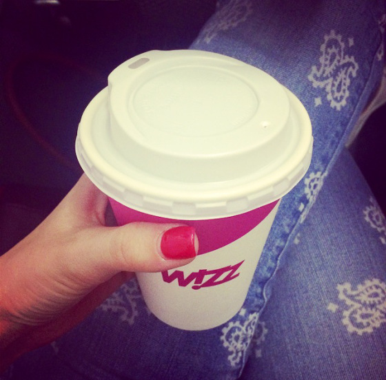 wizz air, tea