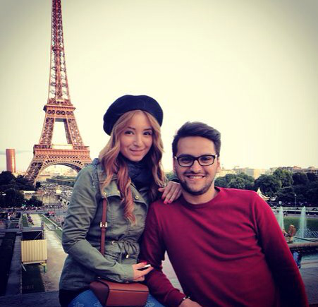 paris, couple, tour eiffel
