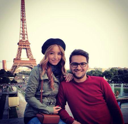 paris, couple, tour eiffel