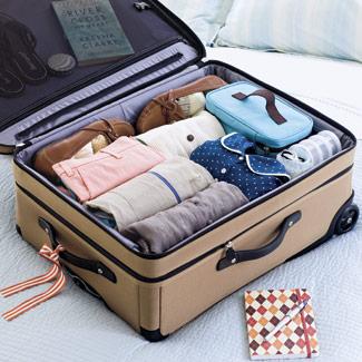 suitcase-organizing