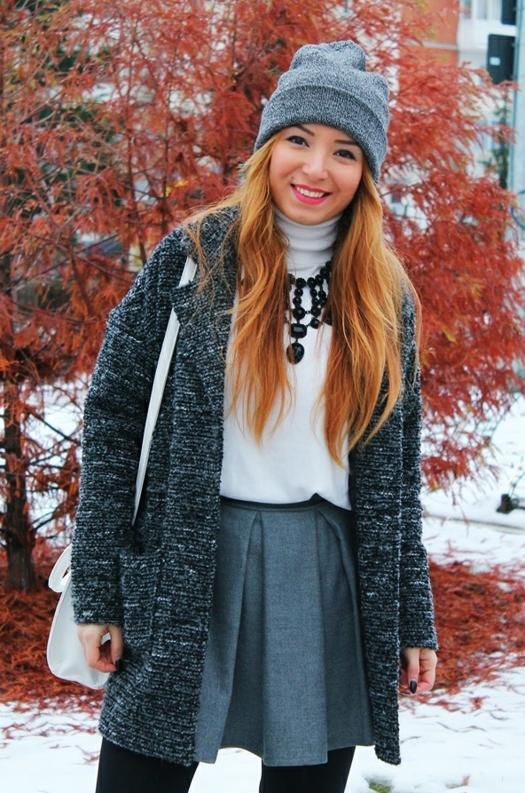tinuta de iarna blogger de moda romania