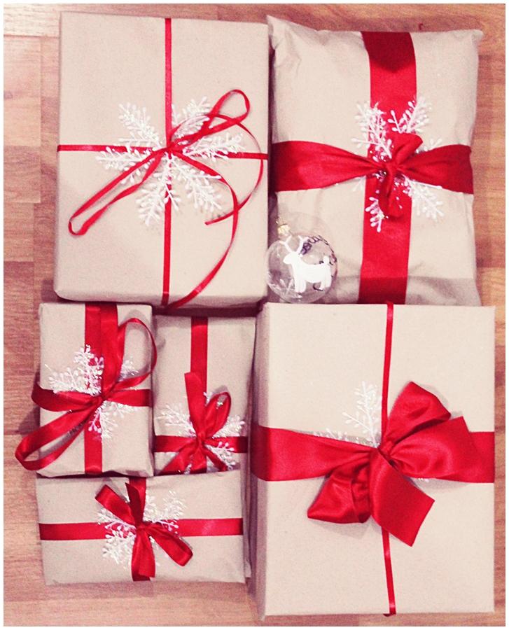 cum sa impachetezi cadourile de craciun, idei