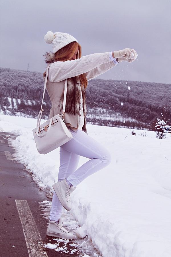 poze iarna, zapada, blogger de moda, andreea design