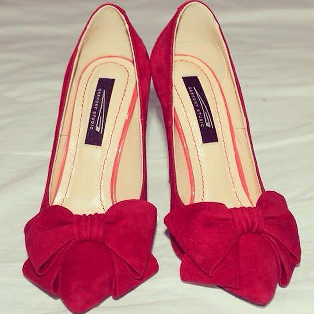 pantofi rosii eleganti de ocazie