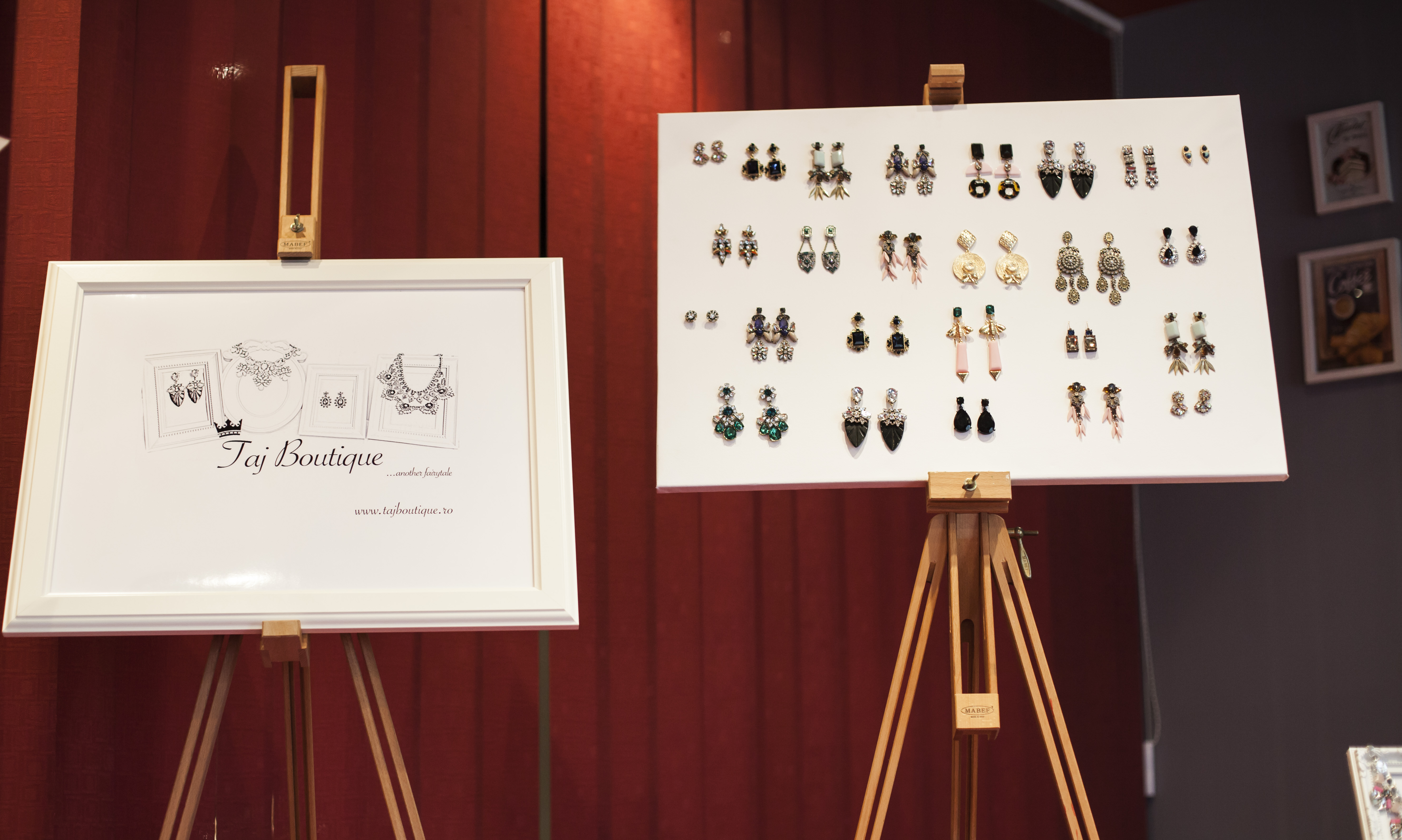 Cercei statement Taj Boutique, bijuterii