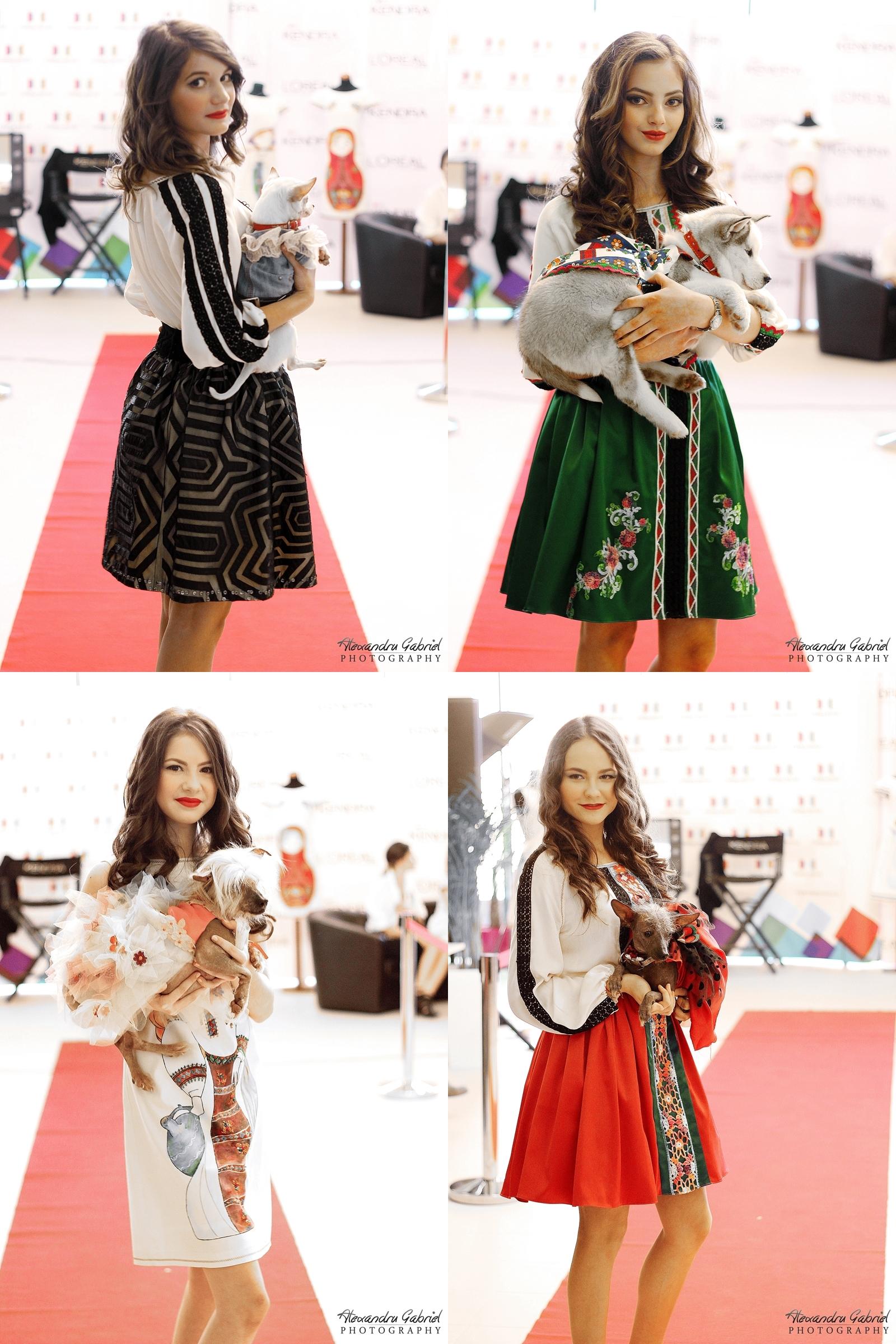 Prezentare rochii Miki Miau, si catelusi fashion, Cinema Trivale