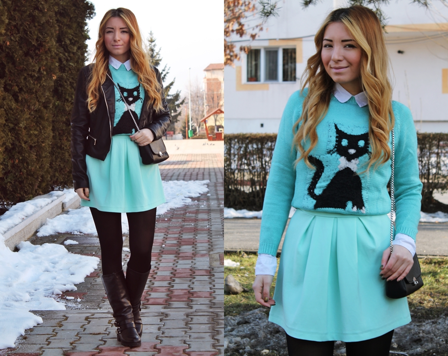 LOOKBOOK MINT GREEN