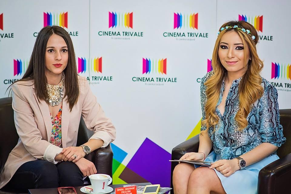 Andreea Pantilinescu, Amalia Avram, Glam-Up, Cinema Trivale, eveniment, 8 martie