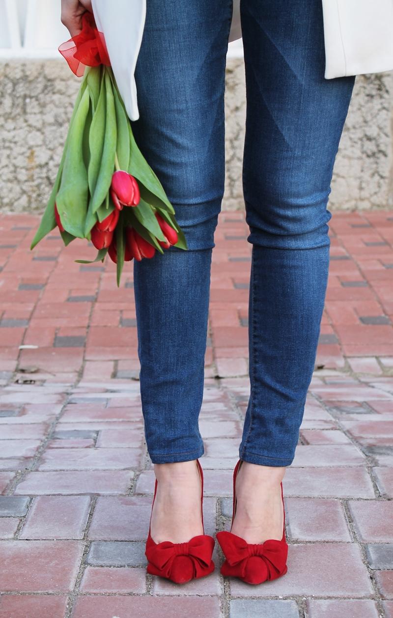 Pantofi rosii Garkony