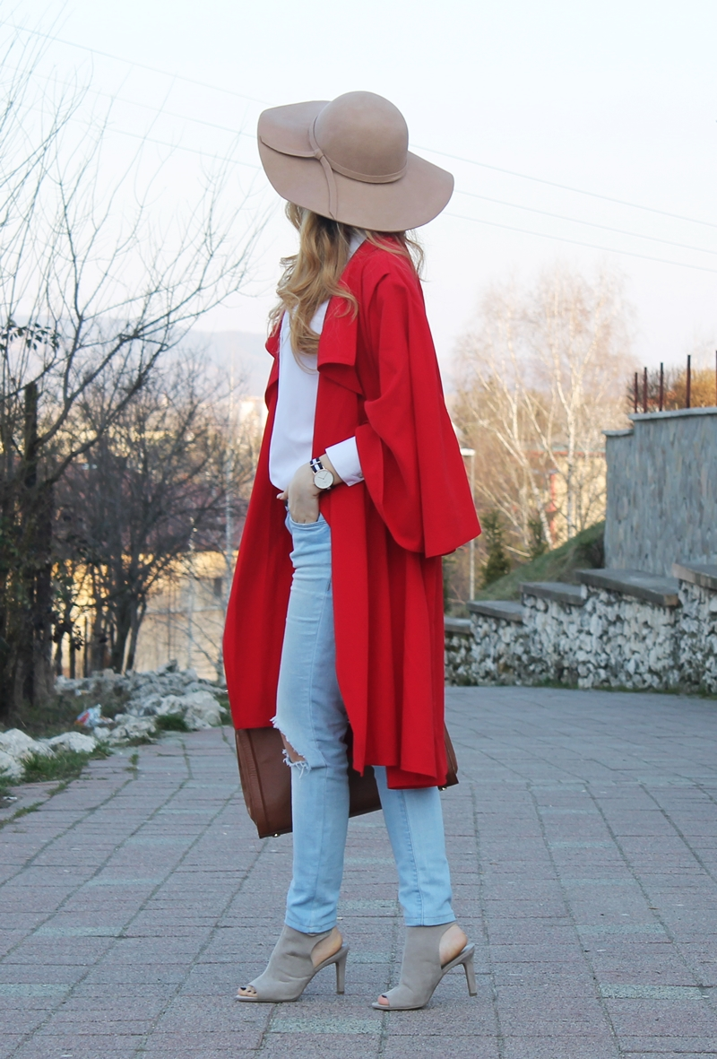 Red Riding Hood outfit, red cape