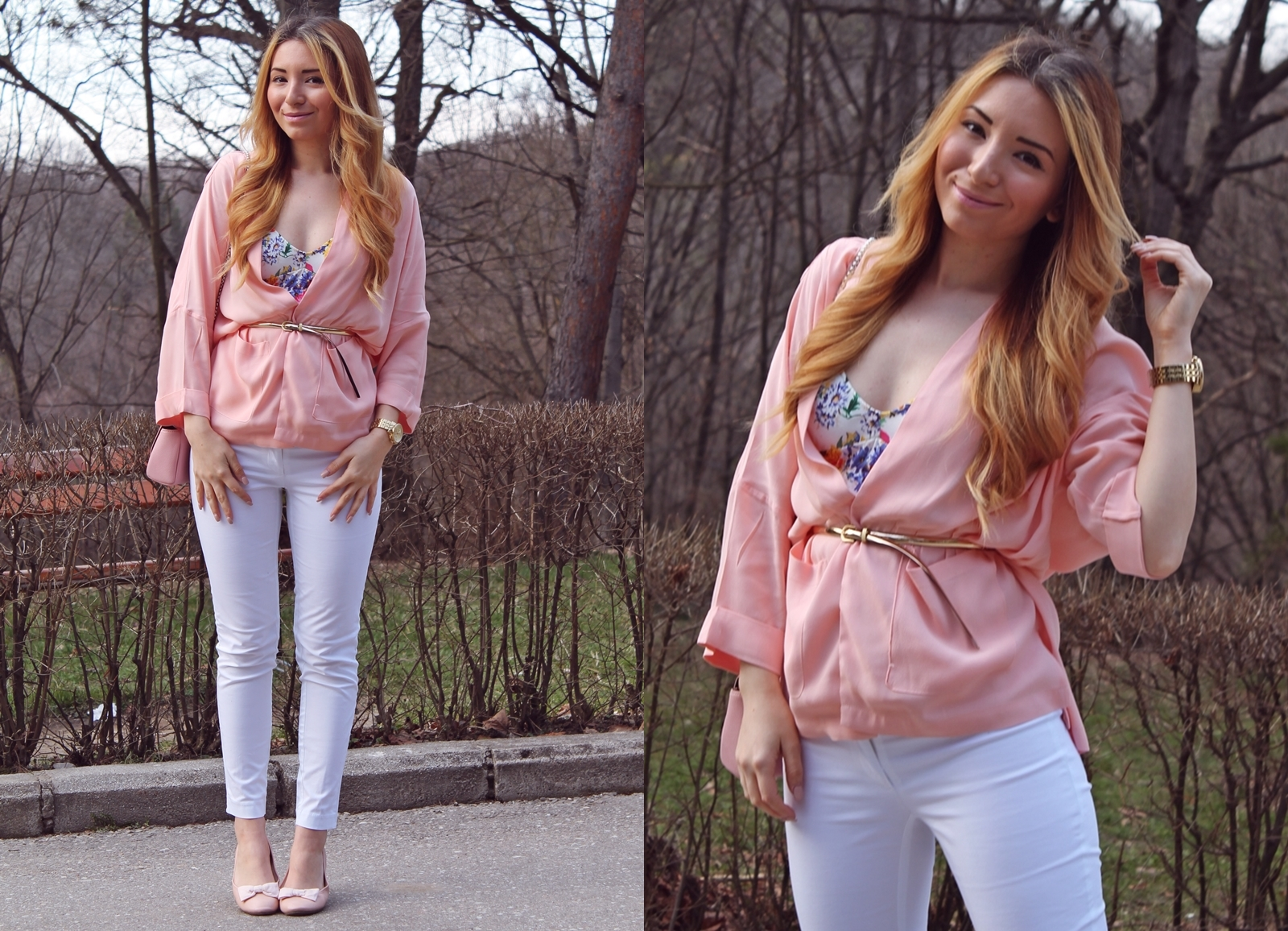 LOOKBOOK PEACHY BLAZER