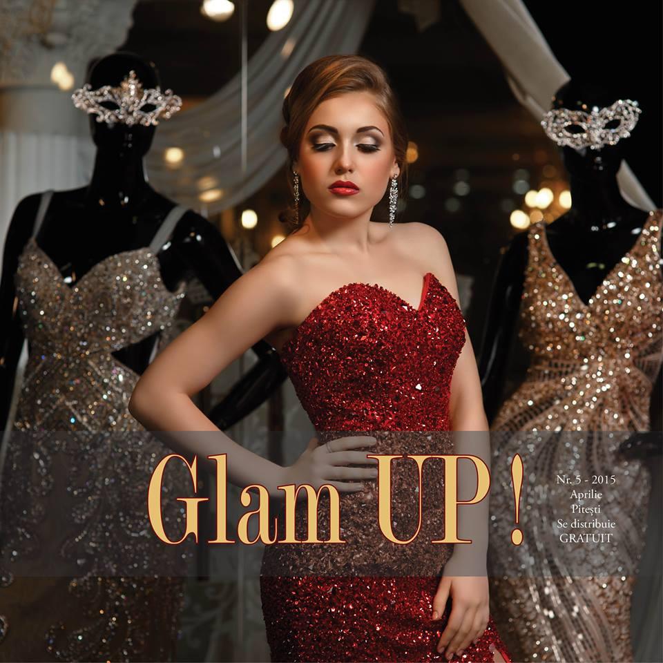 REvista de moda Glam Up Pitesti, nr 5 aprilie