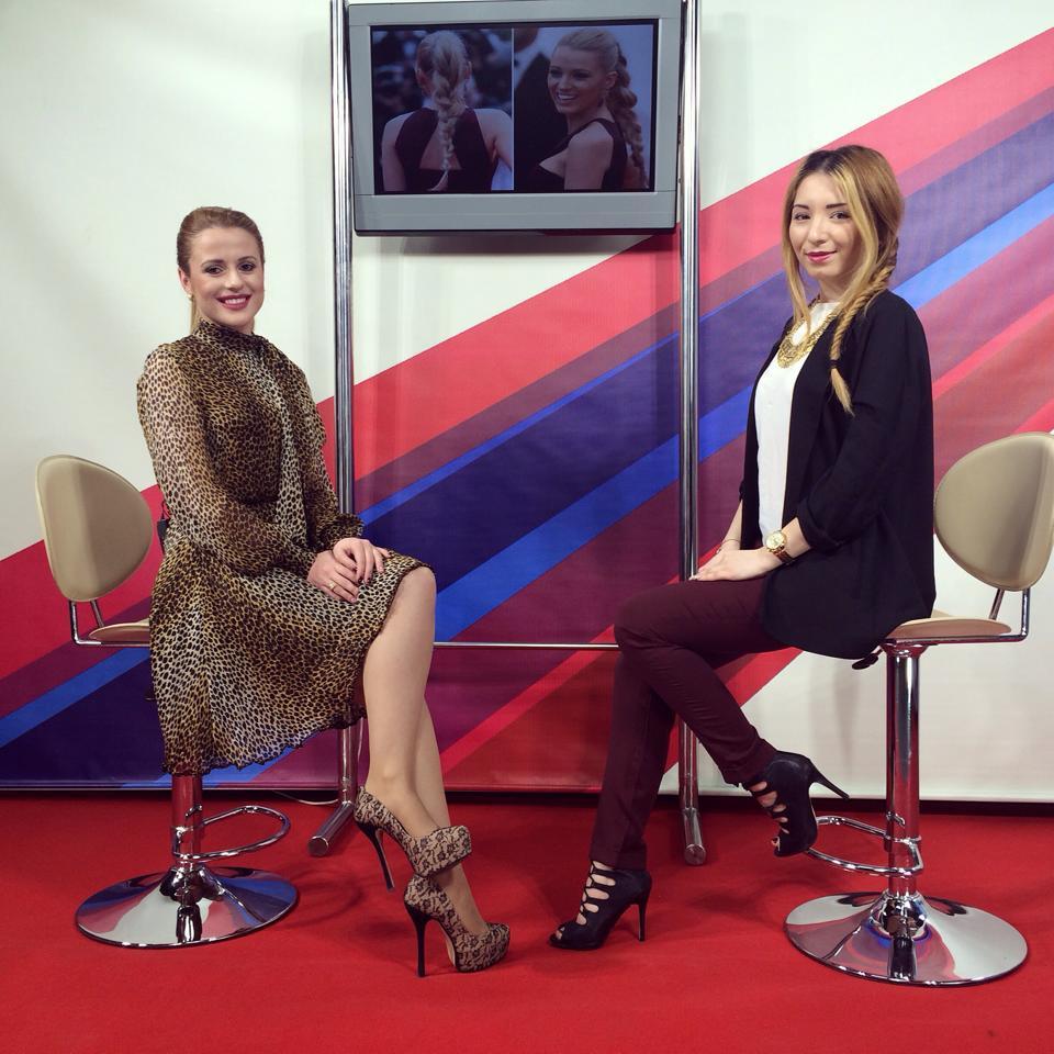 Platou de filmare, Arges Tv, Movie Time, Alexandra Penescu, Andreea Pantilinescu
