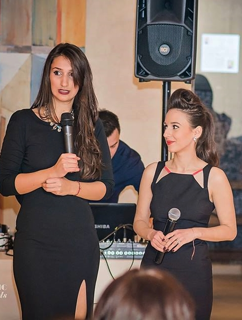 Amalia Avram si Ileana Popa Glam Up eveniment Ramada Pitesti