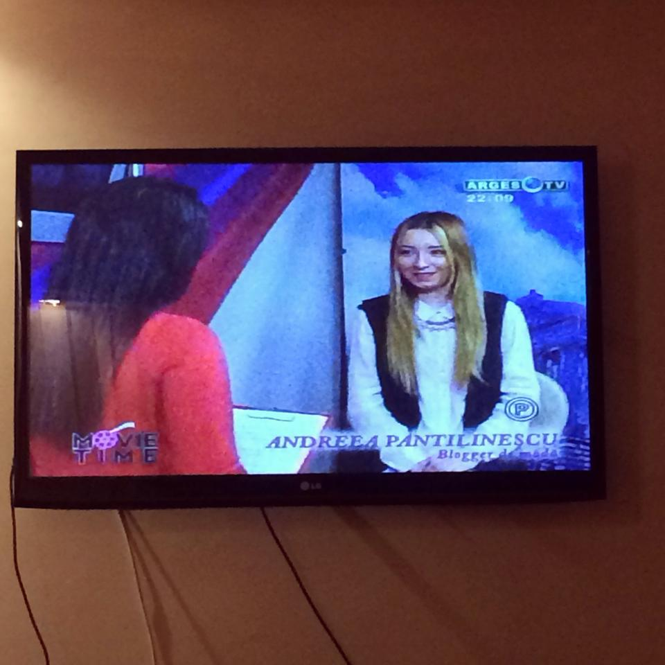 Emisiune locala, televiziune. Arges Tv, blogger de moda, Andreea Pantilinescu