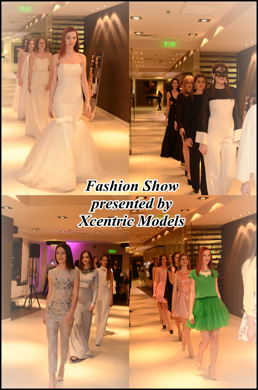 fashion show by xcentric models