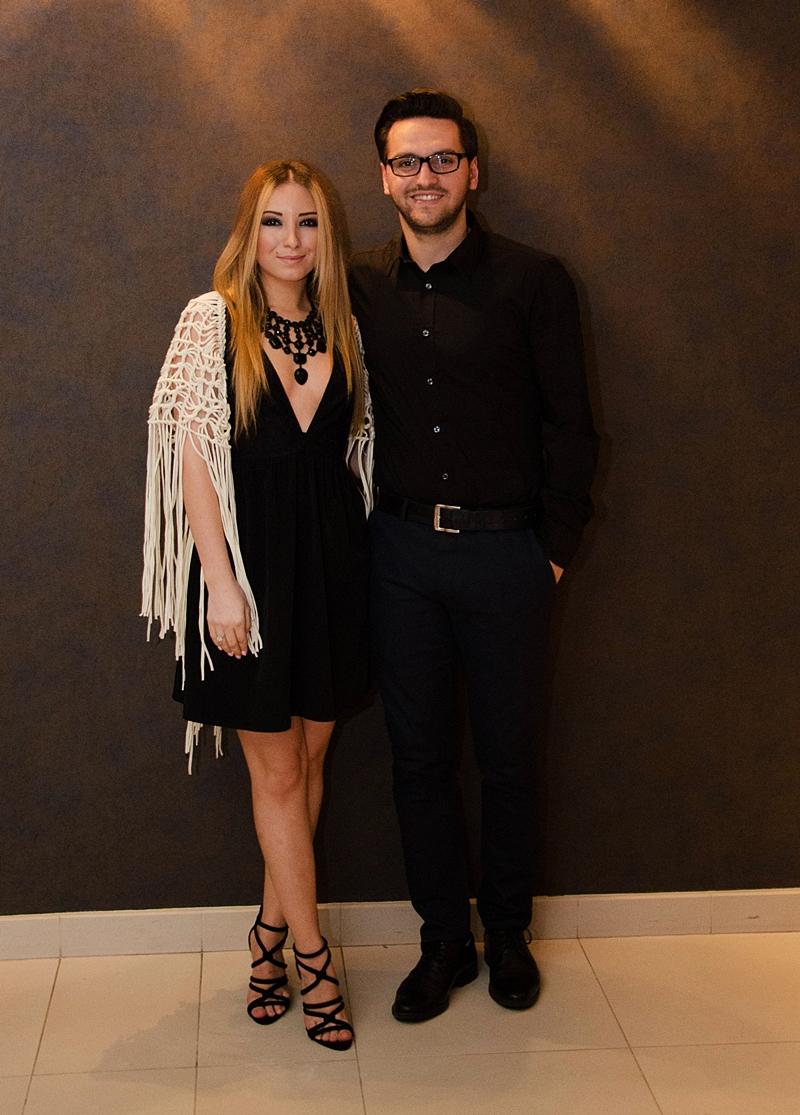 Andreea si Adrian Ristea, lansare revista Glam Up Pitesti