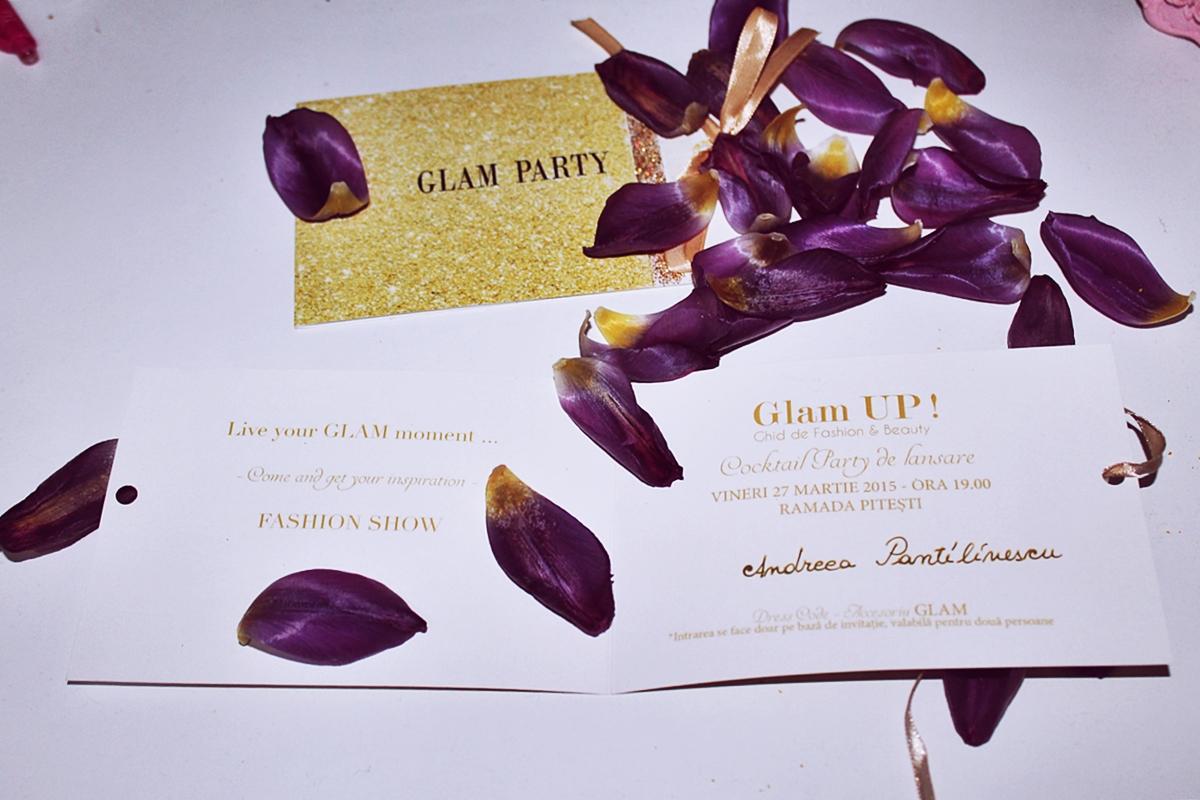 invitatie lansare revista de moda