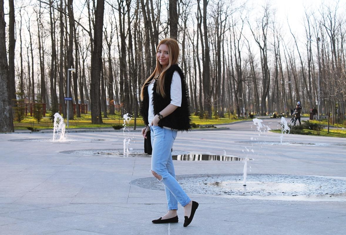 Parcul Lunca Argesului - Blogger de moda Andreea Design