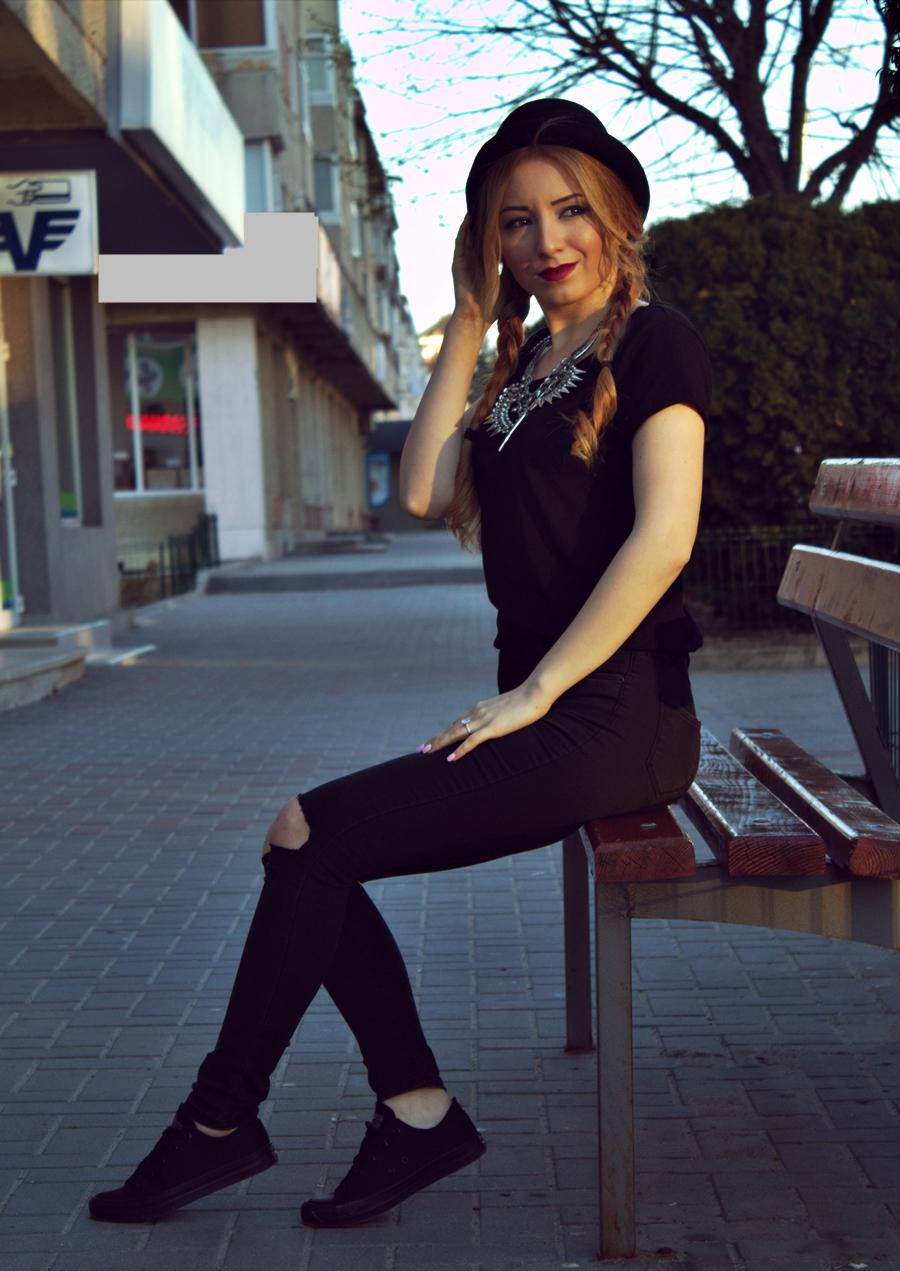 Blogger moda Andreea Ristea