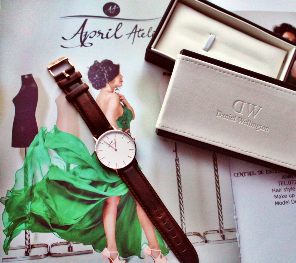 Ceas Daniel Wellington review blog -  Romania