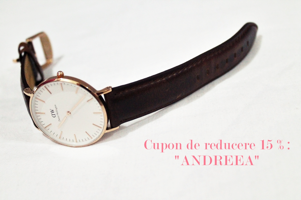 Cupon de reducere ceas Daniel wellington - discount code watch