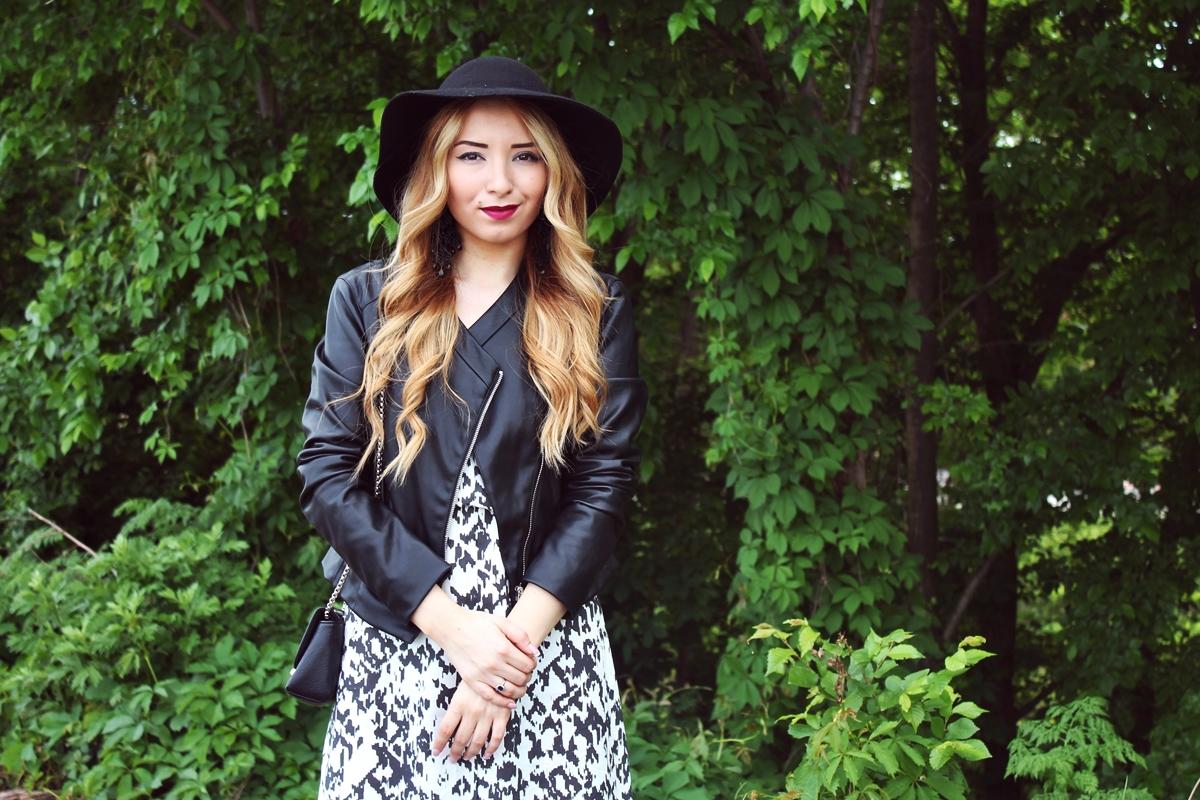 hairstyle 2015, bucle cu palarie, ruj culoarea vinului, burgundy, machiaj de zi, blogger, beauty