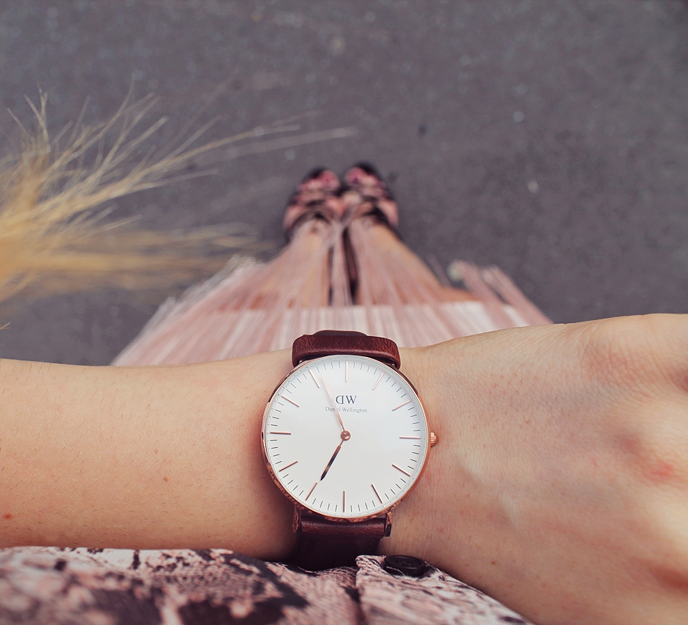 DANIEL WELLINGTON WATCH BROWN pinterest
