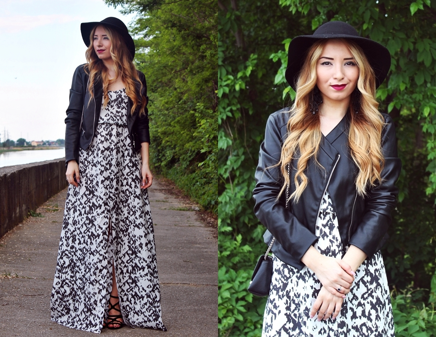 lookbook andreea design maxi dress