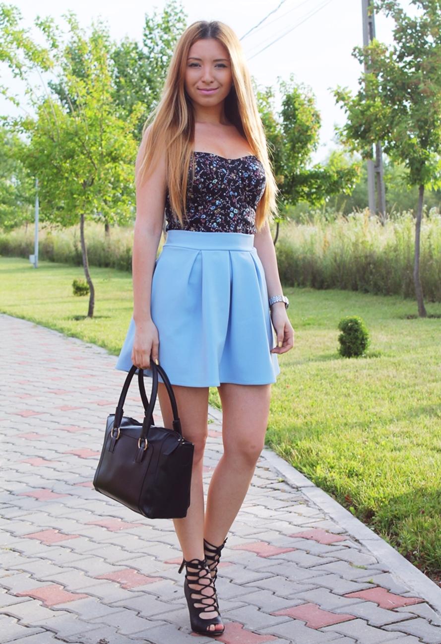 Fashion blogger - Andreea Pantilinescu