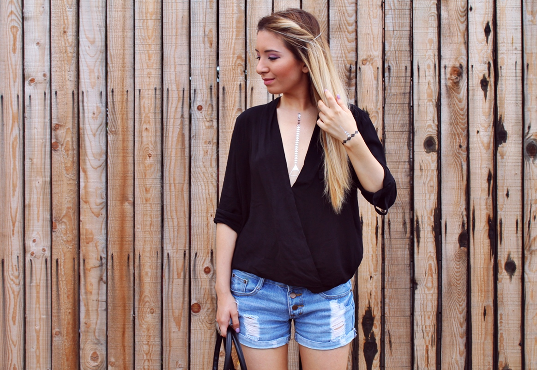 Andreea Ristea blog - tinuta de vara - fashion blogger Pitesti, Arges - flash tattoo