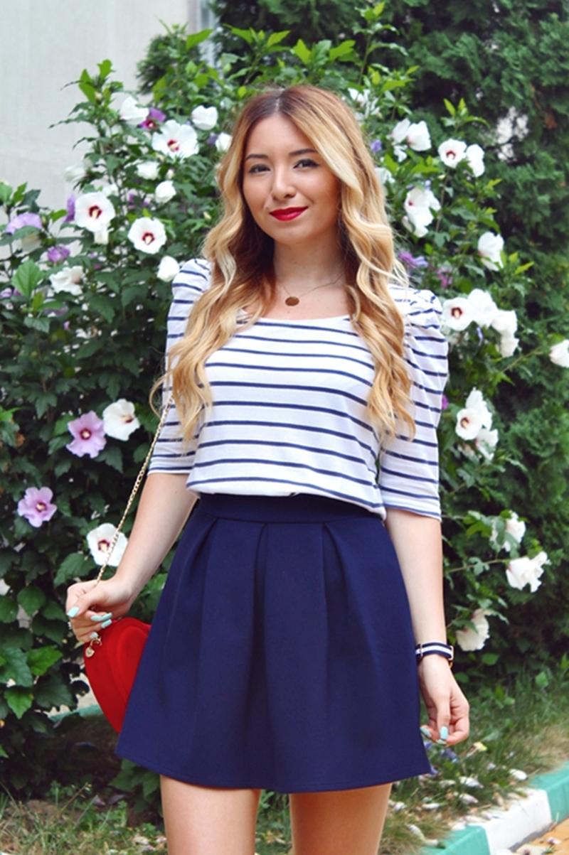 Cum purtam stilul marinaresc - tinuta de vara