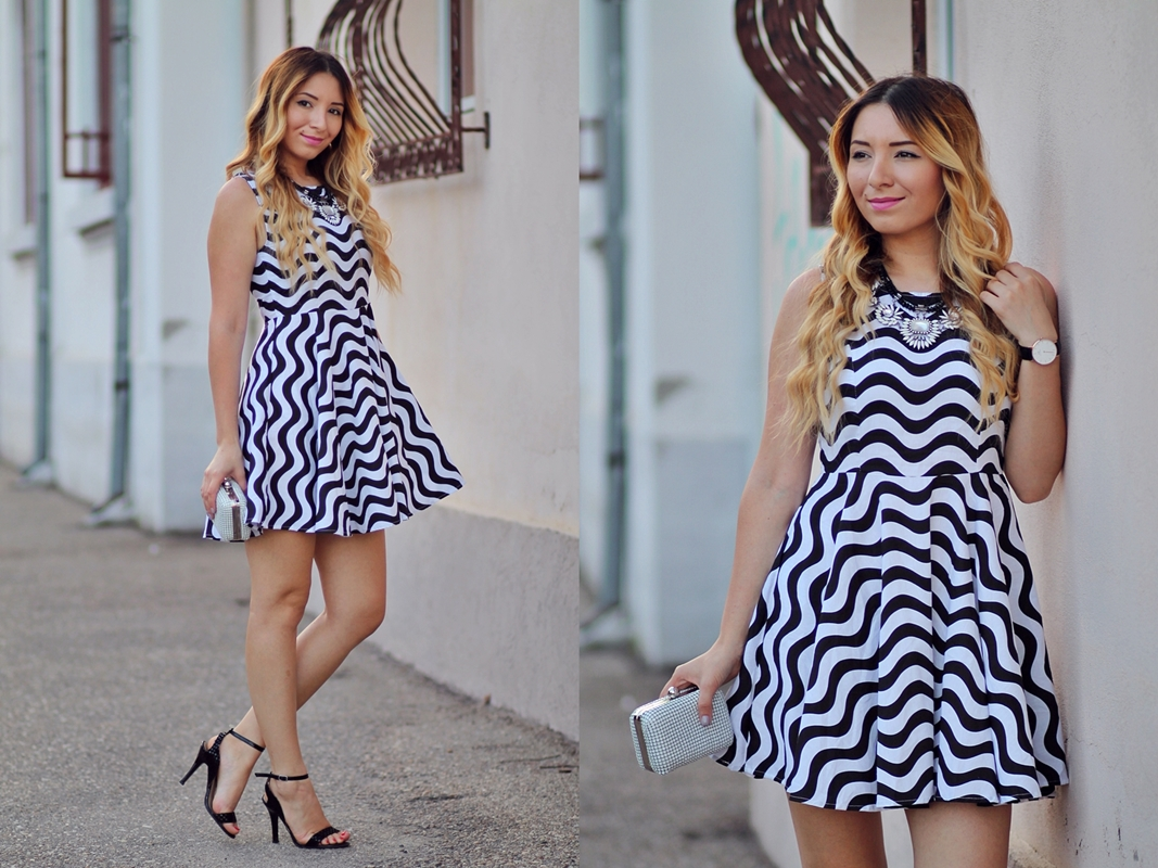 lookbook - zig zag dress