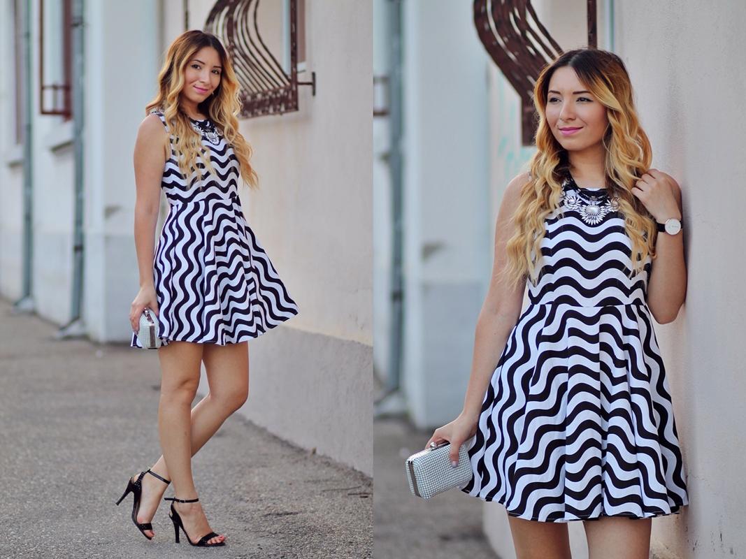 lookbook - zig zag dress