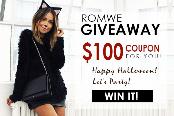Giveaway banner Romwe