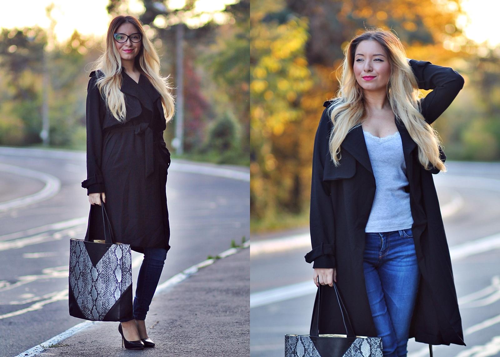 lookbook - black coat