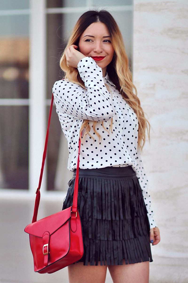 Cum purtam bulinele? Blogger de moda Andreea Ristea