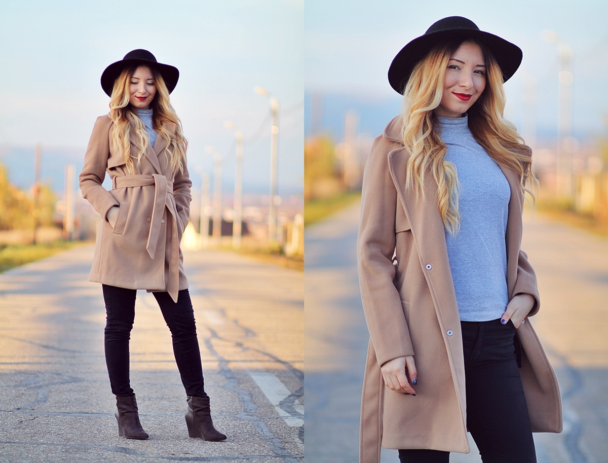 lookbook - camel coat