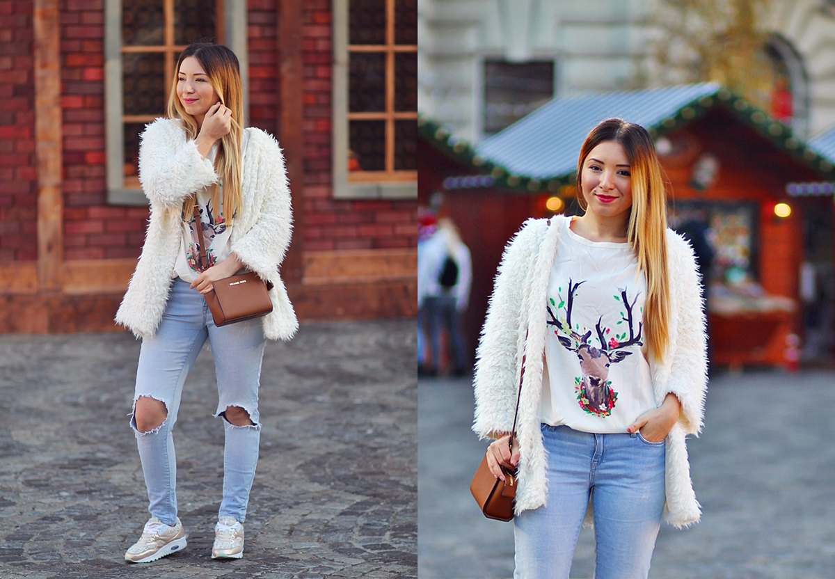 lookbook - christmas outfit - winter look