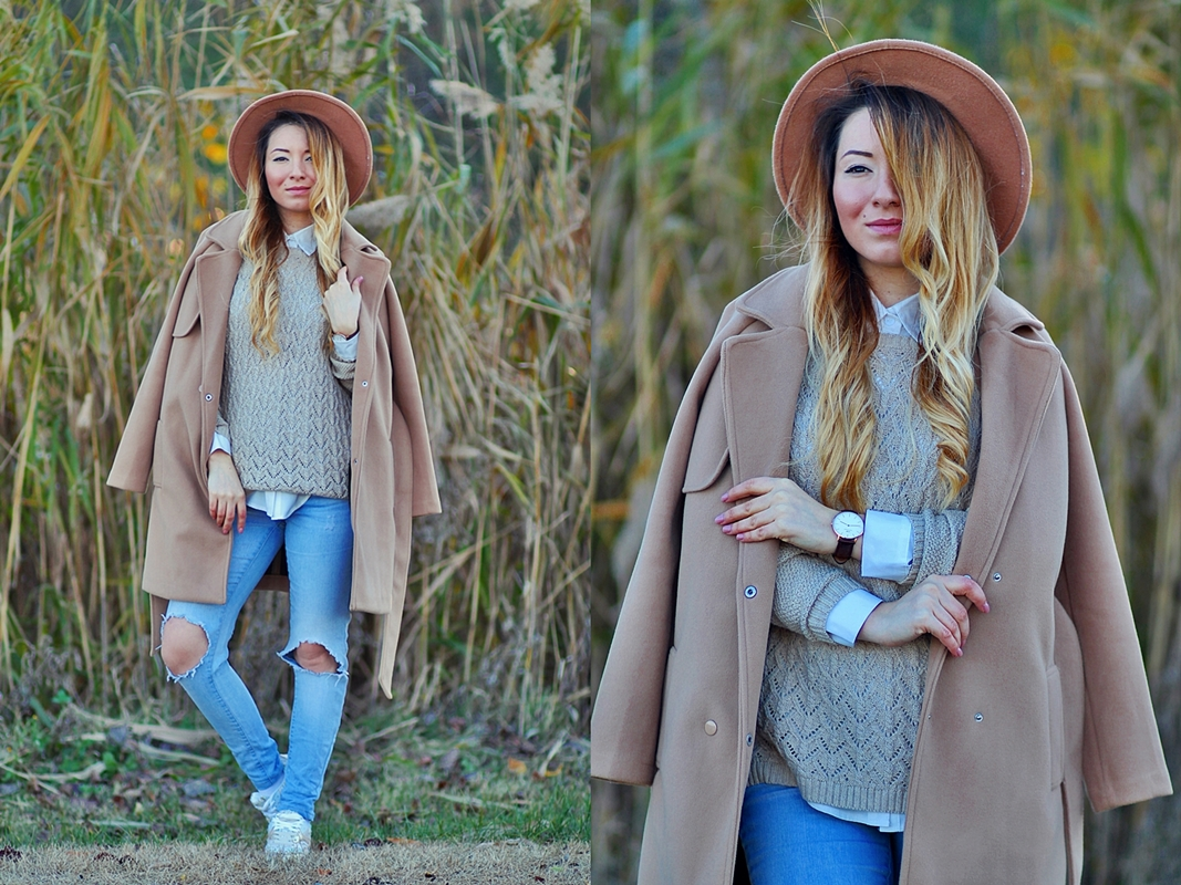 lookbook - 50 shades of nude outfit post