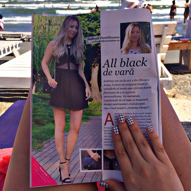 Andreea Ristea - revista Ioana - Blogger de moda