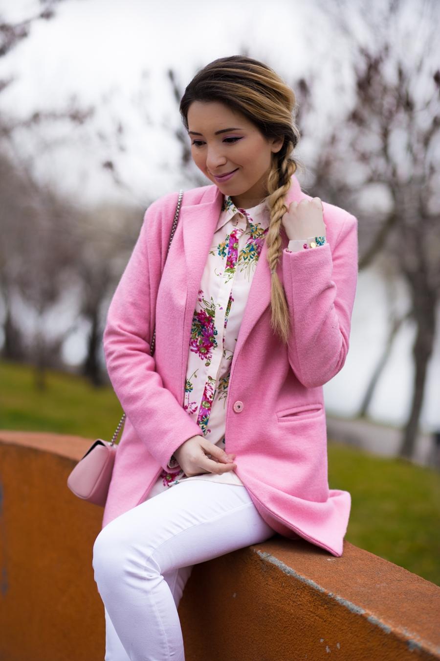 Andreea Ristea - blogger de moda - tinuta de primavara