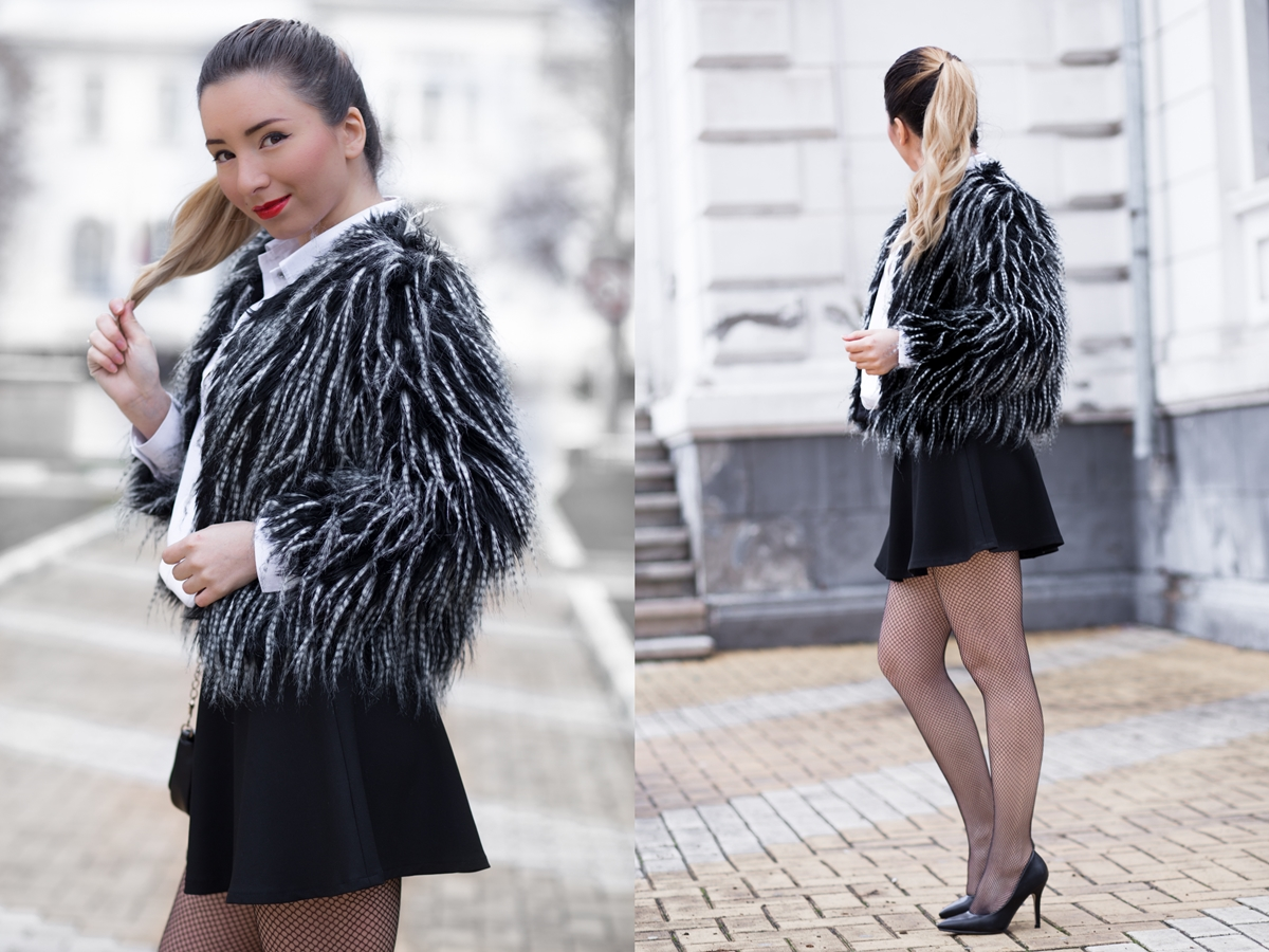 lookbook black and white outfit