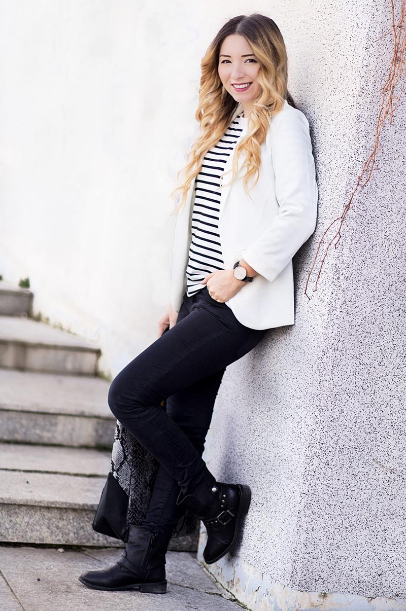 Andreea Ristea - cum purtam non culorile alb si negru ?