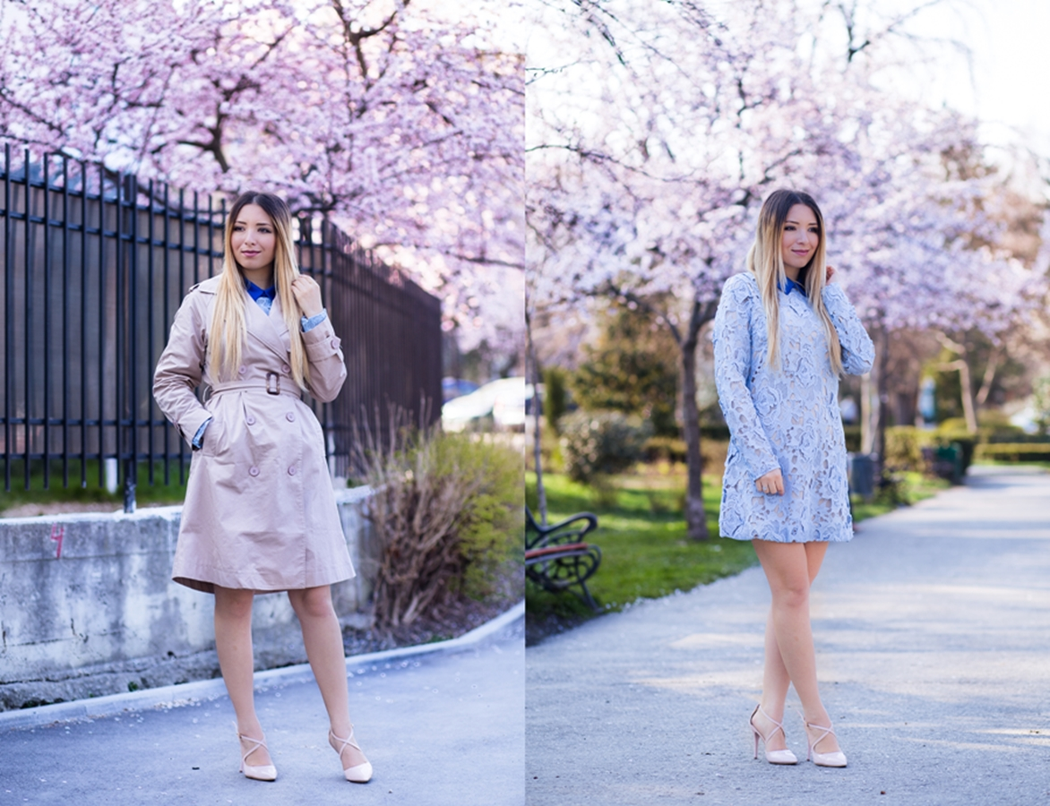 lookbook - spring outfit - blossoming