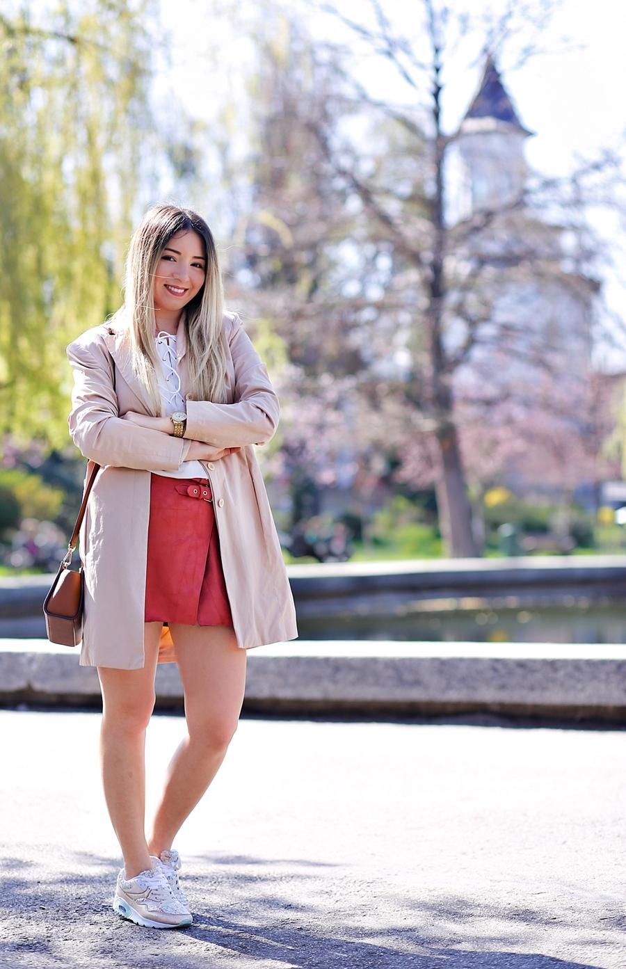 Andreea Ristea - fashion blogger Pitesti