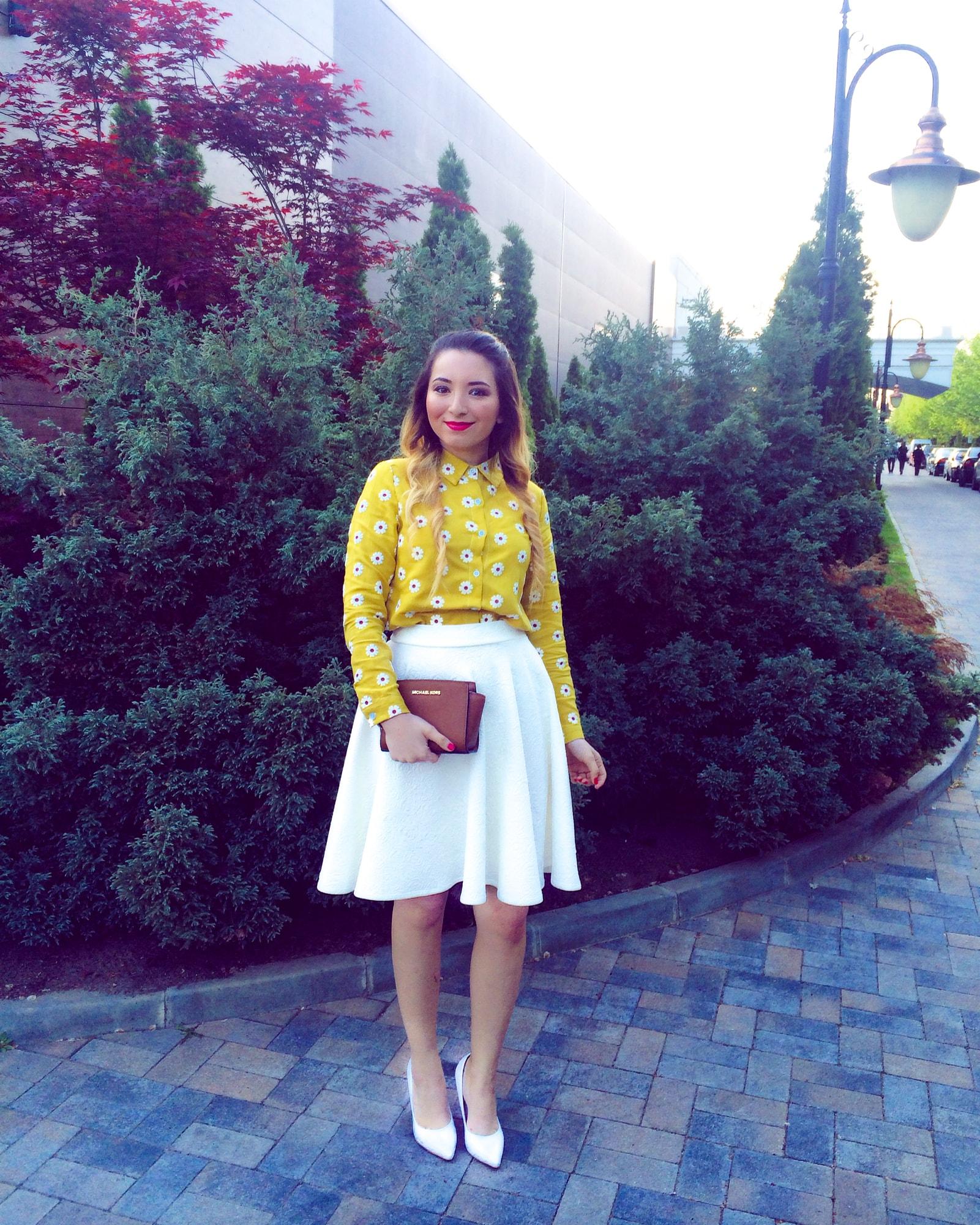 Tinuta BFW aprilie 2016 - fashion blogger Andreea Ristea
